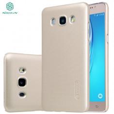 Husa Samsung Galaxy J5 2016 Nillkin Frosted Shield Aurie / Gold - Husa Telefon