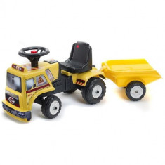 Camion Baby Chantier Cu Remorca Falk