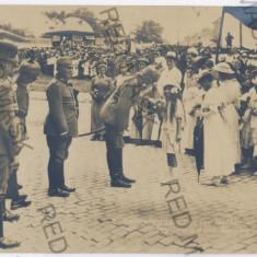 2751 - CONSTANTA, G-ral MACKENSEN, Parade - old postcard, real PHOTO - unused - Carte Postala Dobrogea 1904-1918, Necirculata, Fotografie