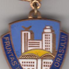 Insigna Fruntas in gospodarirea orasului 1971, Romania de la 1950