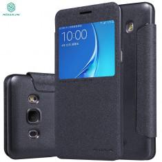 Husa Samsung Galaxy J5 2016 Nillkin Sparkle Neagra / Black - Husa Telefon