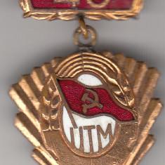 Insigna UTM 40 de ani