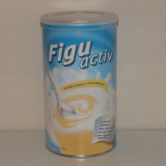 Shake Figuactiv bautură instant dietetică cu gust de vanilie 450 g - Supliment nutritiv