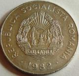 Moneda 25 Bani - RS Romania, anul 1982  *cod 3130  Allu, Aluminiu