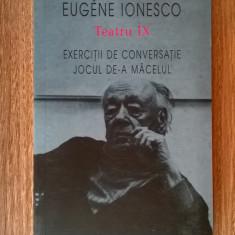 Eugene Ionesco - Teatru IX - Carte Teatru