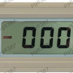 Ampermetru digital de panou, LCD, 4 digiti, 0...10A - 111393
