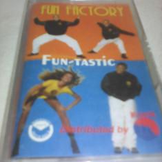 CASETA AUDIO FUN FACTORY FUN-TASTIC ORIGINALA - Muzica Dance, Casete audio