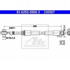 Furtun frana AUDI TT 8N3 PRODUCATOR ATE 83.6252-0560.3