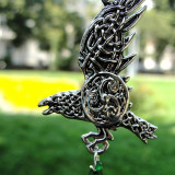 Pandantiv celtic Corbul lui Bran - Pandantiv fashion