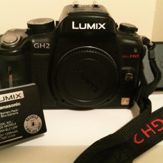 Panasonic Lumix GH2 body - Aparat Foto Mirrorless Panasonic, Body (doar corp)