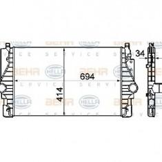 Intercooler, compresor VW TRANSPORTER CARAVELLE Mk IV bus 70XB 70XC 7DB 7DW PRODUCATOR HELLA 8ML 376 760-641