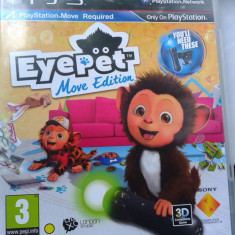 Vand joc ps3 pt move, playstation 3, EYEPET MOVE EDITION - Jocuri PS3 Activision, Actiune, 3+, Multiplayer