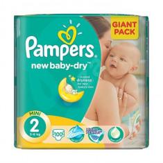 Scutece Pampers Giant Pack 2 New Born Pentru Copii - Scutece unica folosinta copii