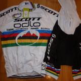 Echipament ciclism complet Scott Odlo Nino Schurter World set pantaloni tricou, Tricouri