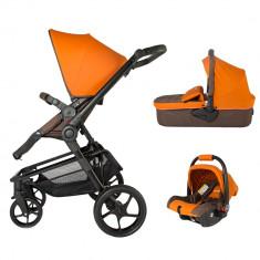 Sistem modular Coccolle Girasole 3in1 Bombay Brown - Carucior copii 3 in 1