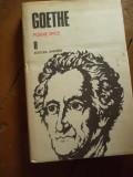 GOETHE -POEME EPICE, Alta editura