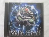 Various ‎– Mortal Kombat Annihilation:soundtrack _ cd,compilatie,UK anii'90