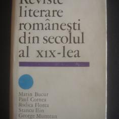 MARIN BUCUR ... - REVISTE LITERARE ROMANESTI DIN SECOLUL AL XIX-lea