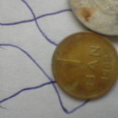 1 BAN 1952 /88 +CADOU 100 LEI REGE MIHAI, 25 BANI - Moneda Romania