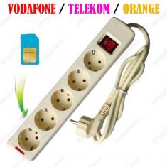 Prelungitor spion GSM cu microfon ascuns SIM card Spionaj Apelare Vocala FACTURA
