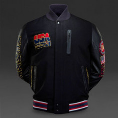 Geaca Nike Team USA Basketball Destroyer Varsity Jacket, Autentic, Nou !