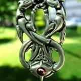 Pandantiv celtic dragonii din Wyrd - Pandantiv fashion