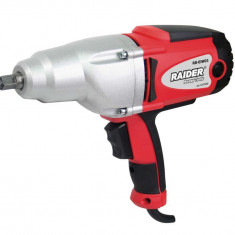 073202-Cheie electrica cu impact pentru strans prezoane 1200W Raider Power Tools - Surubelnita electrica