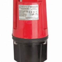 070122-Pompa submersibila cu vibratii pentru ape curate sorbul jos 300 W Raider - Pompa gradina Raider Power Tools, Pompe submersibile, de drenaj
