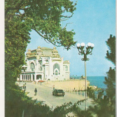 Bnk cp Constanta - Restaurantul Cazino - necirculata - Carte Postala Dobrogea dupa 1918, Printata