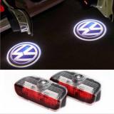 Set lampi logo portiere + lumini ambientale - Volkswagen