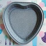 Tava de copt marmorata, in forma de inima - Tava cuptor