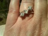 Cumpara ieftin DIAMANTE_inel argint diamante naturale brute congo cubes peste 1 carat