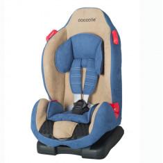 Scaun auto 9-25 kg Coccolle Faro albastru - Scaun auto copii Coccolle, 1 (9-25 kg), In sensul directiei de mers