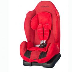 Scaun auto 9-25 kg Coccolle Faro rosu - Scaun auto copii Coccolle, 1 (9-25 kg), In sensul directiei de mers
