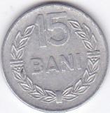 Moneda Romania ( R.S.R. ) 15 Bani 1975 - KM#93a VF