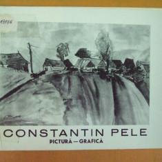 Constantin Pele pictura grafica catalog expozitie Sibiu 1976