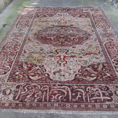 Covor vechi oriental dimensiuni mari 340 x 252 cm, antic persan
