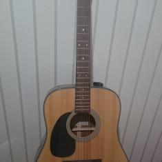 Vând chitară pentru stângaci Sigma Dm1-Stl - Chitara acustica