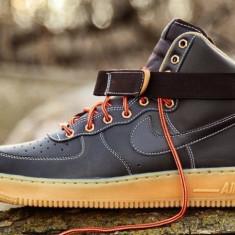 Adidasi Originali Nike Air Force 1 High 07, Autentici, Noi in Cutie, MARIME 40 - Adidasi barbati Nike, Culoare: Din imagine, Piele naturala