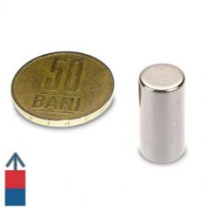 Magneti neodim puternici cilindri 10x20 mm experimente magnetice neodymium