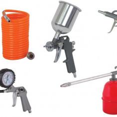 089913-Set 5 accesorii pentru compresor Raider Power Tools RD-AT02 - Compresor electric Raider Power Tools, Compresoare cu piston
