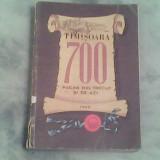 Timisoara 700-pagini din trecut si de azi-Sub redactia Stefan Pascu - Istorie