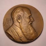 Medalie Profesor Tzigara Samurcas Intemeietorul Muzeului de Arta Nationala 1939 - Medalii Romania