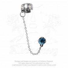 Cercel ear cuff Amurg cu stele - Pandantiv fashion
