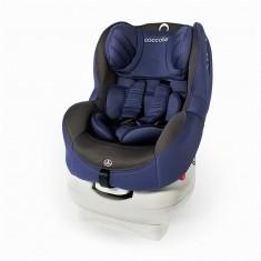 Scaun auto cu Isofix 0-18 kg Coccolle Mira-Fix albastru - Scaun auto copii Coccolle, 0-1 (0-18 kg), In sensul directiei de mers