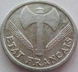 Moneda 1 Franc - FRANTA, anul 1943 *cod 3150  a.UNC Depunere Aluminiu