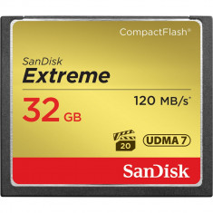 Card memorie CF Sandisk Extreme 32gb 800x 120mb/s, sigilat - Card Compact Flash