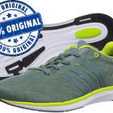 Adidasi barbat Adidas Adizero Feather 4 - adidasi originali - running - alergare, 40, Gri, Textil