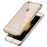 Husa din silicon Electroplating pentru IPHONE 6, auriu - Husa Telefon, iPhone 6/6S