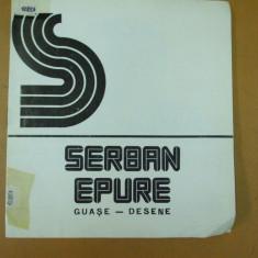 Serban Epure guase desen album expozitie 1976 Bucuresti Simeza, Alta editura